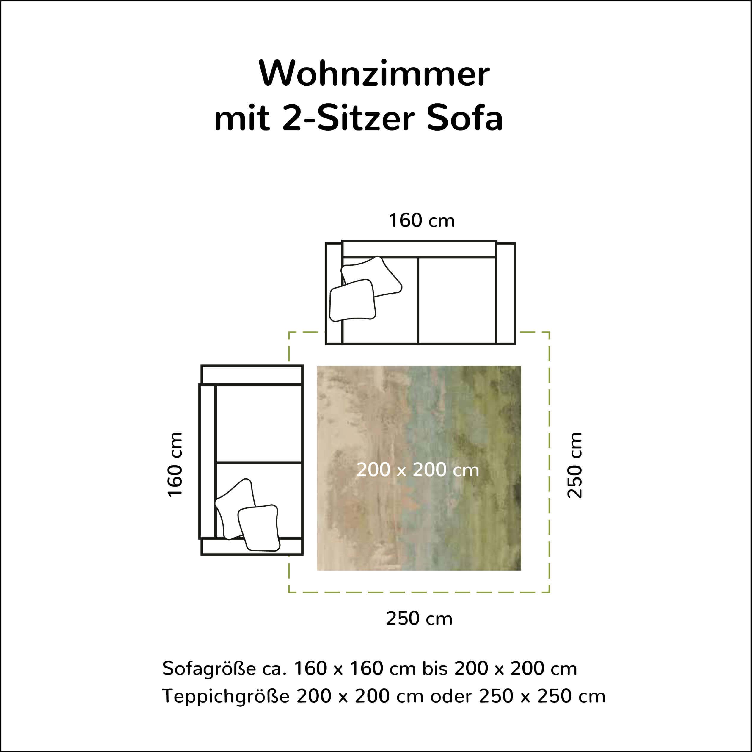 Welche Teppichgröße ist passend   Schick Stephan – Teppiche und ...