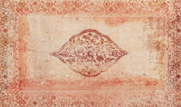 Fußmatte Vintage Bloom, wash & dry Qualität, 070 x 120 cm Draufsicht