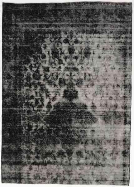 Vintageteppich Reloaded black