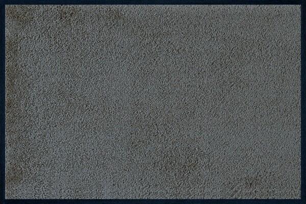 Fußmatte uni Smokey Mount, Wash & Dry Monocolour, 040 x 060 cm, Draufsicht