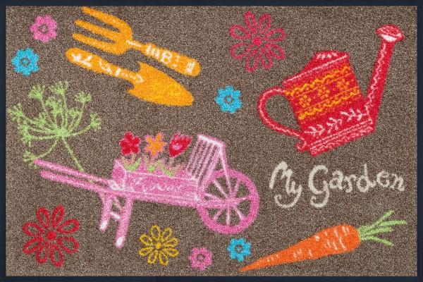 My Garden Sauberlaufmatte, mehrfarbig, 50 x 75 cm, Draufsicht