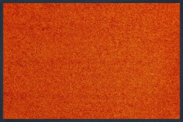 Fußmatte uni TC_Burnt Orange, Wash & Dry Trend Colour, 40 x 60 cm, Draufsicht
