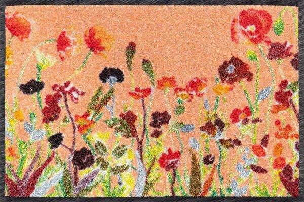 Wildflowers Sauberlaufmatte, mehrfarbig, 40 x 60 cm, Draufsicht