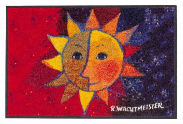 Fußmatte Sole, Rosina Wachtmeister Lifestyle, mehrfarbig, 50 x 75 cm, Draufsicht