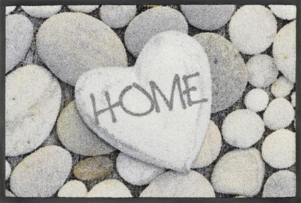 Fußmatte Pebble Stone, Wash & Dry Design Enter & Exit, 040 x 060 cm, Draufsicht
