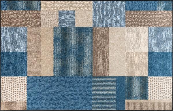 Lanas blau (115 x 175 cm)