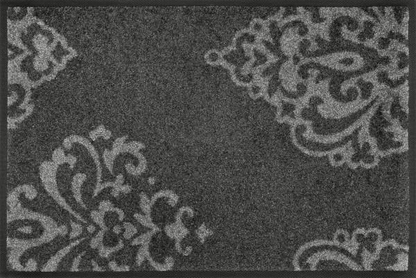 Lucia grey Sauberlaufmatte, grau, 40 x 60 cm, Draufsicht
