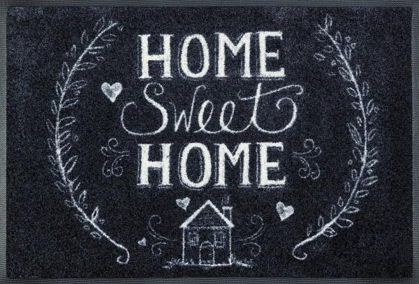 Fußmatte Chalky Home, Wash & Dry Designmatte, 050 x 075 cm, Draufsicht