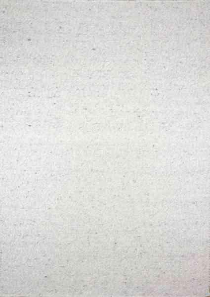 Handwebteppich Black forest Top, grau meliert, Schurwolle, Draufsicht