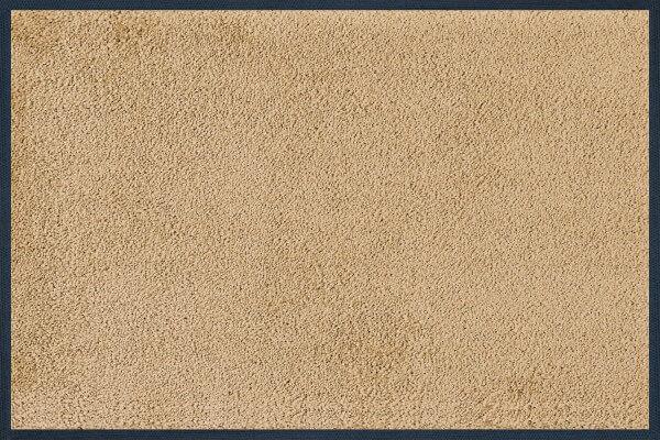 Fußmatte uni Sahara, Wash & Dry Monocolour, 040 x 060 cm, Draufsicht