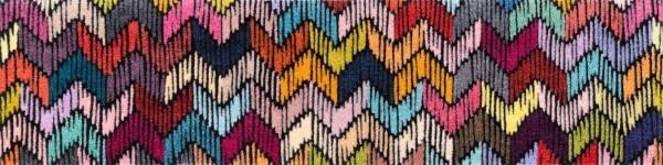 Randlose Fußmatte Luminioso, mehrfarbig, 30 x 120 cm, Draufsicht