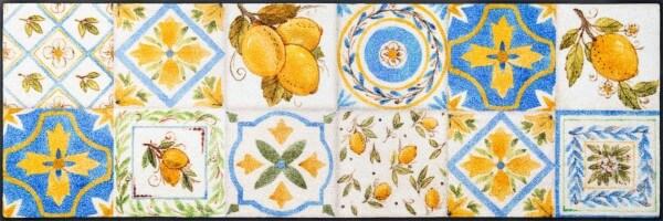 Küchenmatte Limoni, neuer Küchenläufer wash & dry, 60 x 180 cm, Draufsicht