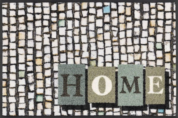 Fußmatte Homeway , Wash & Dry Design Enter & Exit, 050 x 075 cm, Draufsicht