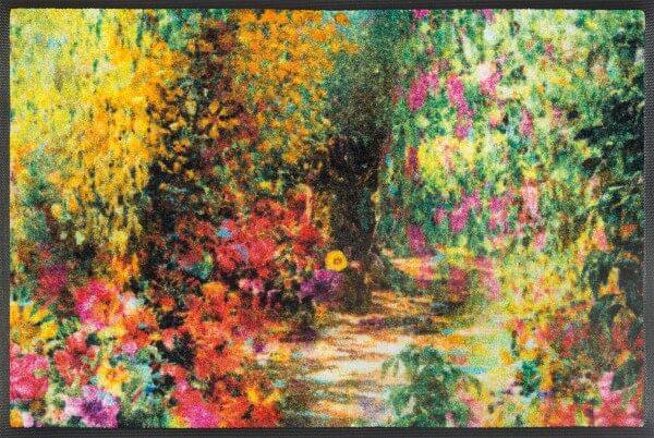 Fußmatte Primavera, Wash & Dry Designmatte, mehrfarbig, 050 x 075 cm, Draufsicht