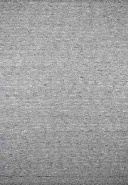 Handwebteppich Black Forest Graffenmatte, Schurwolle grau/beige Melange, goldenes Glanzgarn, Draufsicht