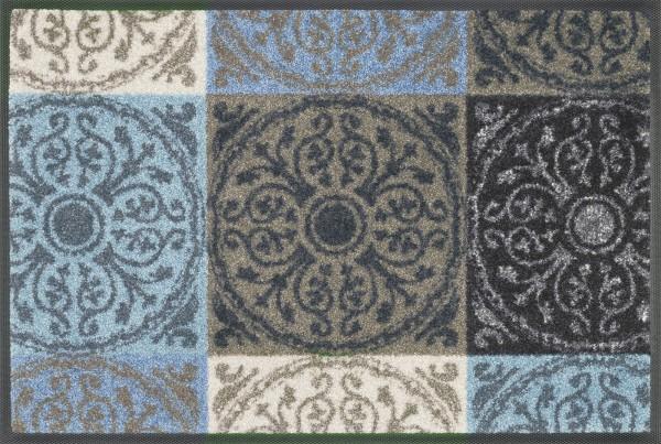 Sauberlaufmatte Da Capo, Wash & Dry Designmatte, mehrfarbig, 40 x 60 cm, Draufsicht