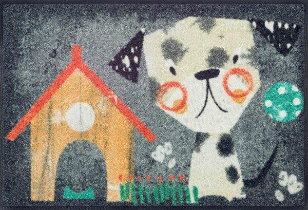 Benno Fußmatte, wash & dry Design, mehrfarbig, 50 x 75 cm, Draufsicht