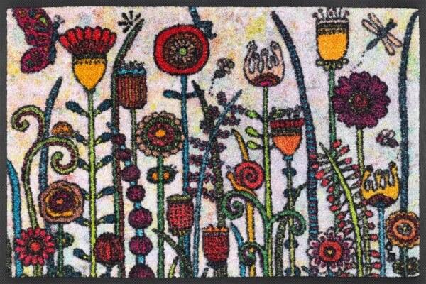 Sauberlaufmatte Sonnentag, wash & dry Kollektion, Rollin' Art Design, 40 x 60 cm, Draufsicht