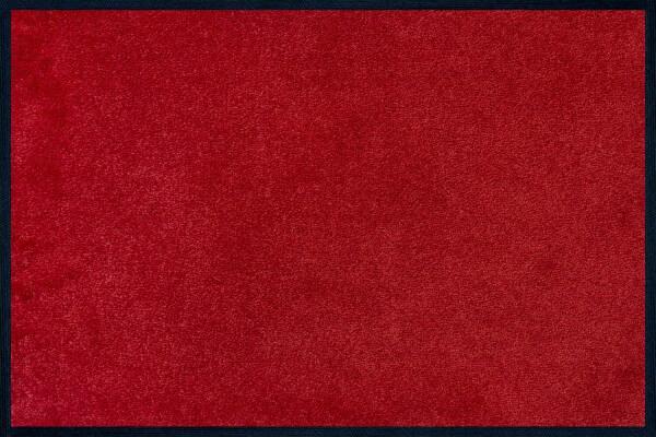 Fußmatte uni Regal Red, Wash & Dry Monocolour, 040 x 060 cm, Draufsicht