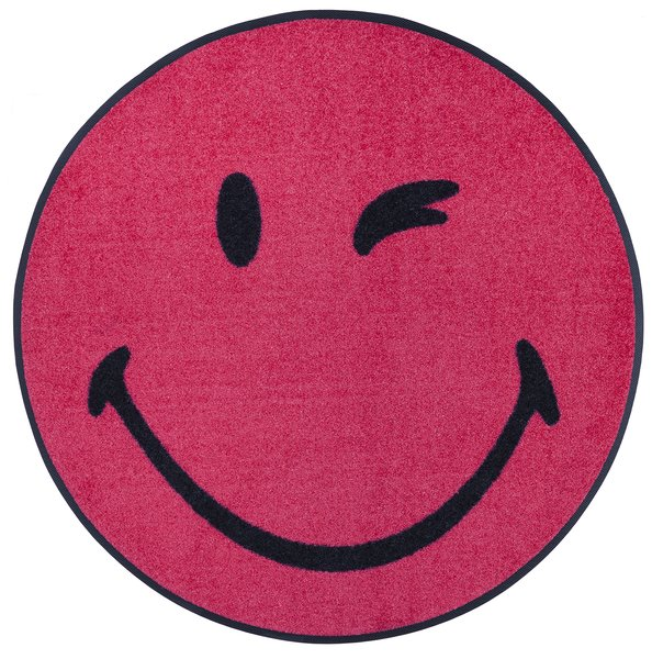 Smiley Winky pink