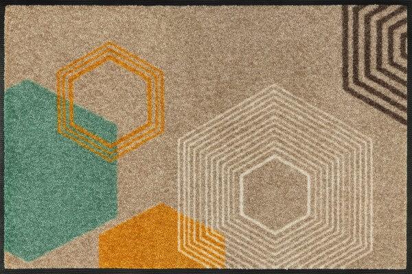 Fußmatte Callisto, Wash & Dry Interior Design, 50 x 75 cm, Draufsicht