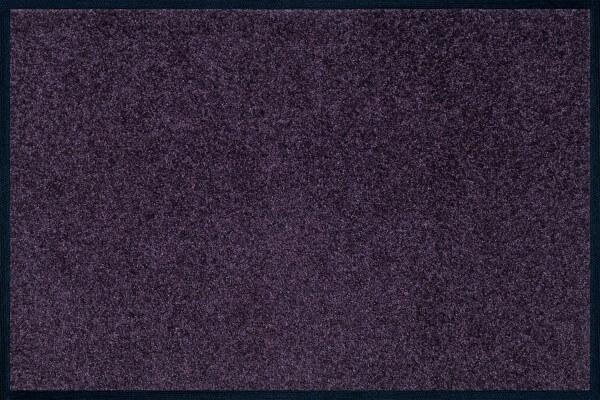 Fußmatte uni TC_Velvet Purple, Wash & Dry Trend Colour, 040 x 060 cm, Draufsicht
