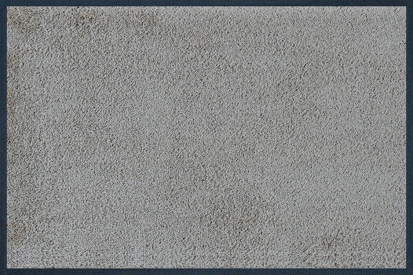 Fußmatte uni Cool Grey, Wash & Dry Monocolours, 040 x 060 cm, Draufsicht
