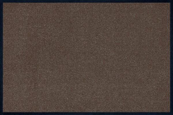 Fußmatte uni TC_Brown, Wash & Dry Trend Colour, 40 x 60 cm, Draufsicht
