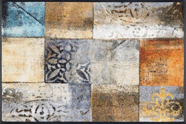 Sauberlaufmatte Tilea, Wash & Dry Designmatte, mehrfarbig, 50 x 75 cm, Draufsicht