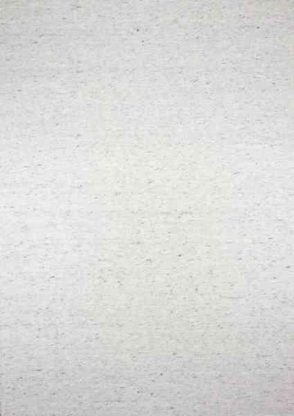 Handwebteppich Black Forest Action, Wolle, grau meliert, Draufsicht