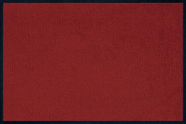 Fußmatte uni Terracotta, Wash & Dry Monocolour, 040 x 060 cm, Draufsic