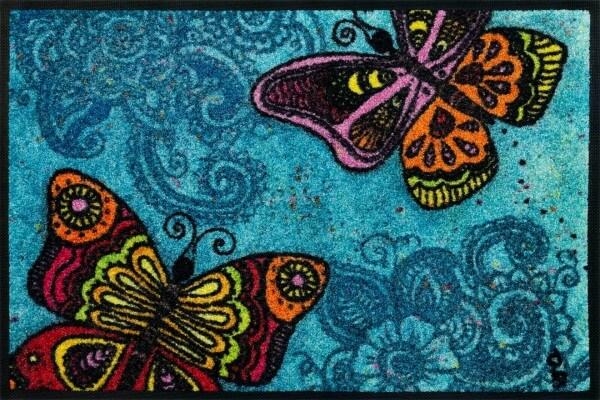 Fußmatte Spread your Wings, Wash & DRy Kollektion, Rollin' Art Design, 40 x 60 cm, Draufsicht